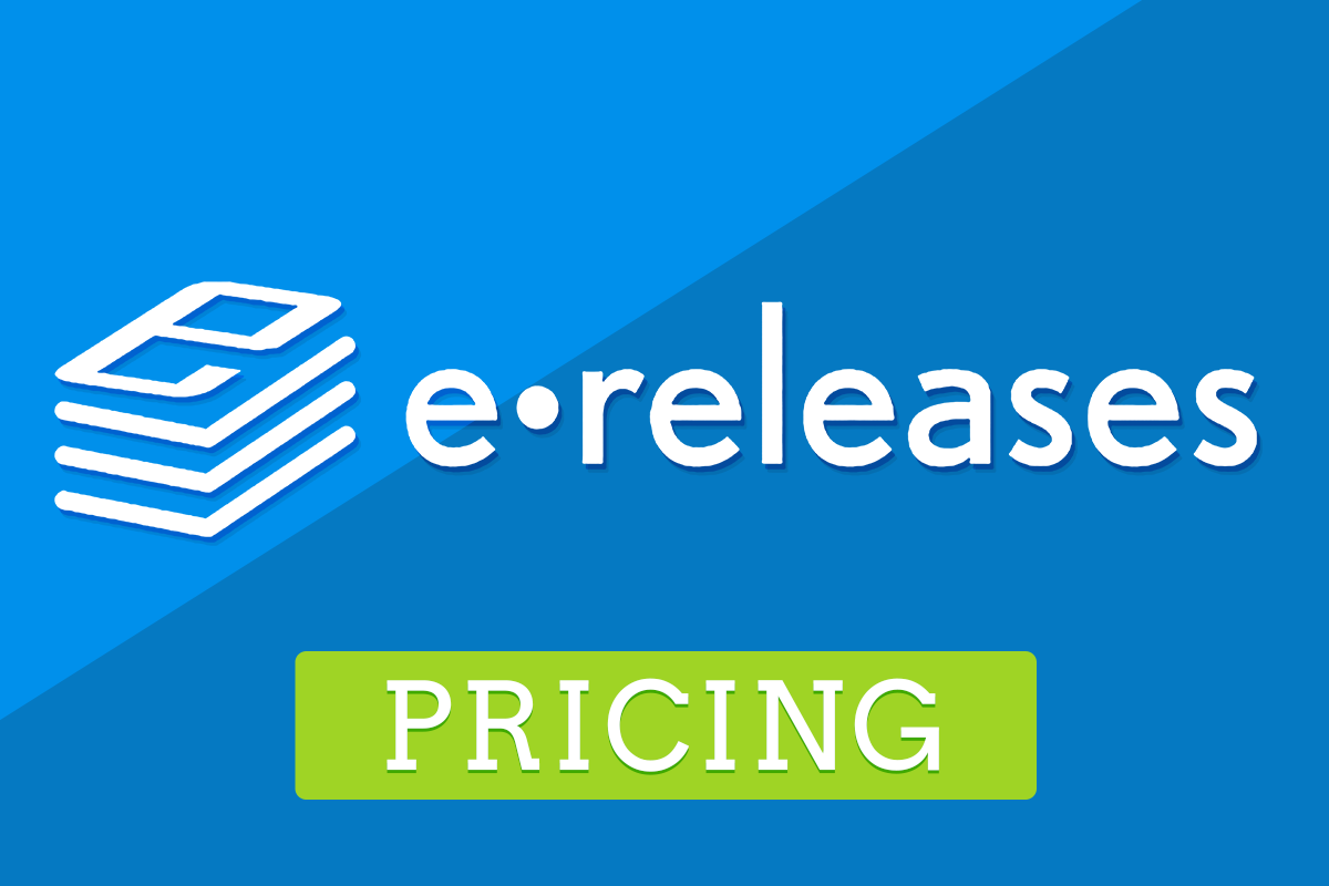 eReleases Pricing