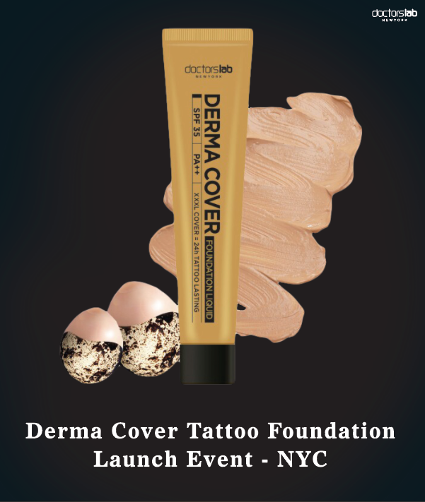 Derma cover tattoo foundation launch press release for Tattoo foundation cover up