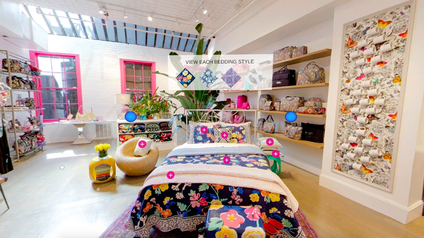 Virtual Reality Vr Platform For Experiential Ping Announced The Launch Of An In And Web 360 Experience Today Vera Bradley