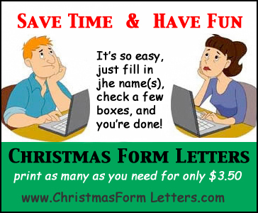 Who hate writing christmas letters will love christmas form letters