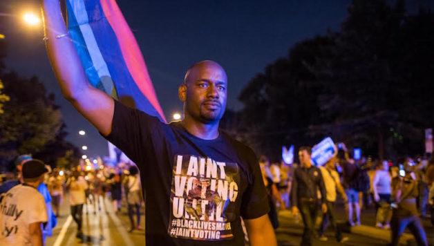 Black Lives Matter Leader Hawk Newsome Demands Bronx ...