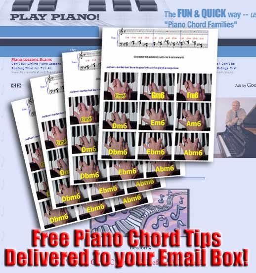 Play Piano Like A Bandit With Exciting Piano Chords Chord