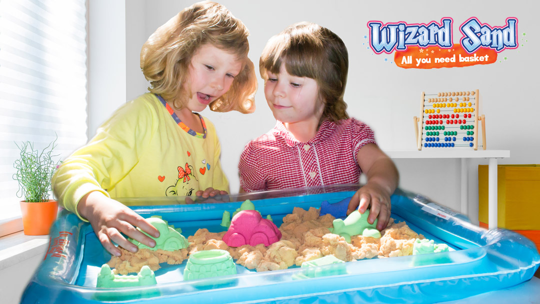 Wizard Sand Launches New Kinetic Sand Play Set, Product Available on Amazon Also