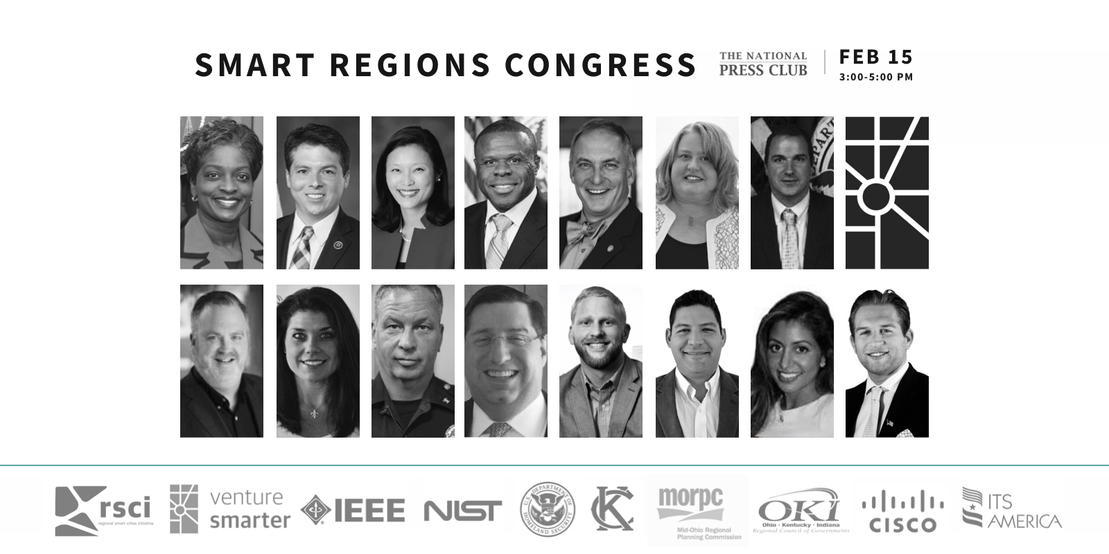 Leaders announce a shared vision, launch the 2018 Smart Infrastructure Challenge at the Smart Regions Congress
