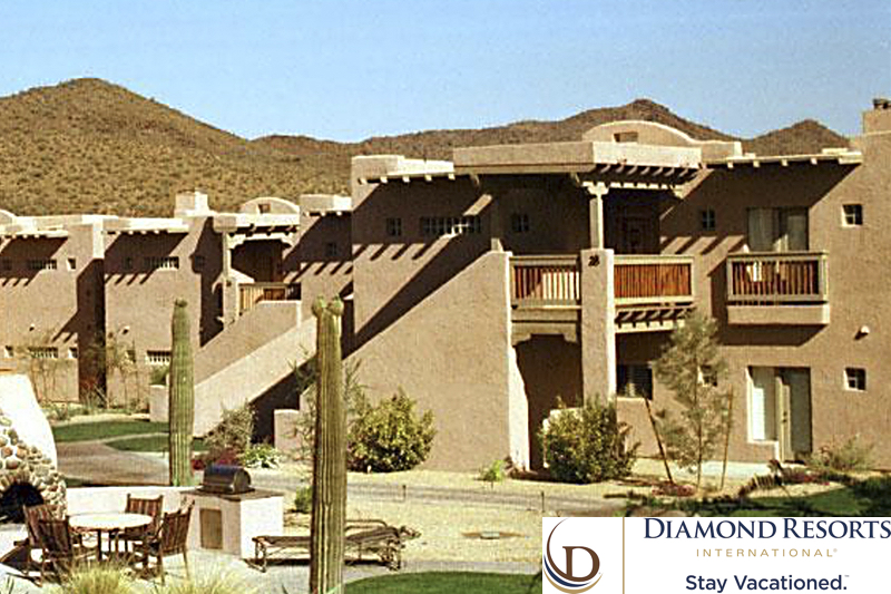 Diamond Resorts International® Timeshare Offers To Discover the Wild West at Arizona's Cave Creek