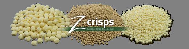 Zumbro River Brand Introduces Z-Crisps® Organic 60% Protein Pea Crisps