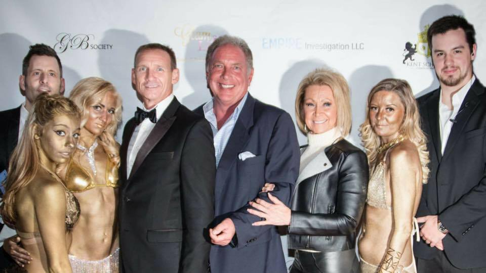 "KS Champagne Parties Global & Empire Investigations bring ""James Bond"" to Life at 6th Annual ""Bond Soiree"""