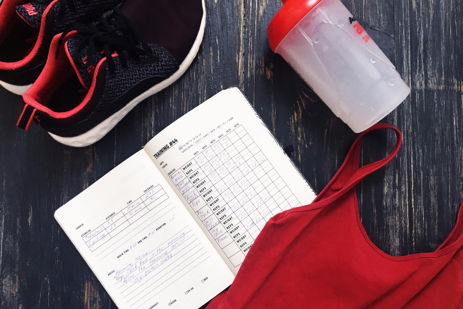 Improve Workout Goals with The Fitness Journal