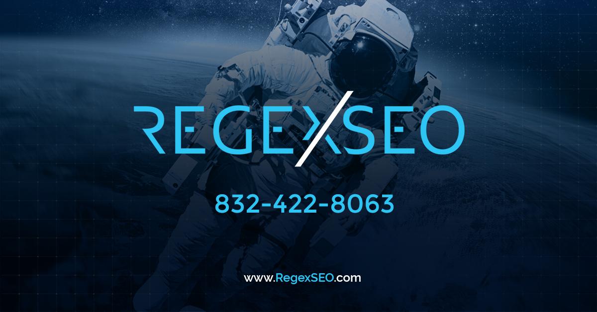 Regex SEO - Helping small businesses navigate through the SEO Fog