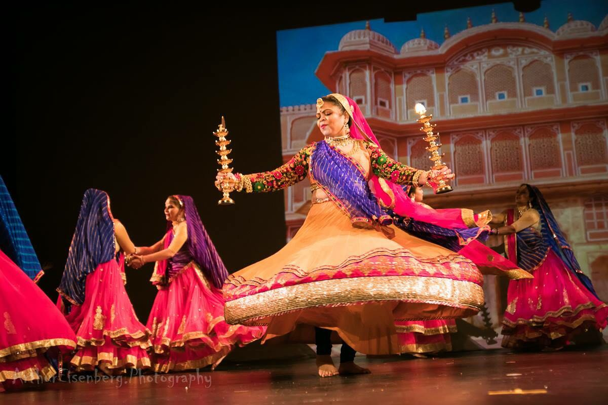 """Varsha Naik represents Indian Culture at """"Dancing in the Spotlight"""" in Symphony Space Theatre New York City"""