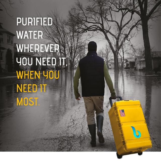 Entrepreneur Creates World's First Nanofiltration-Based Portable Water Purification Device