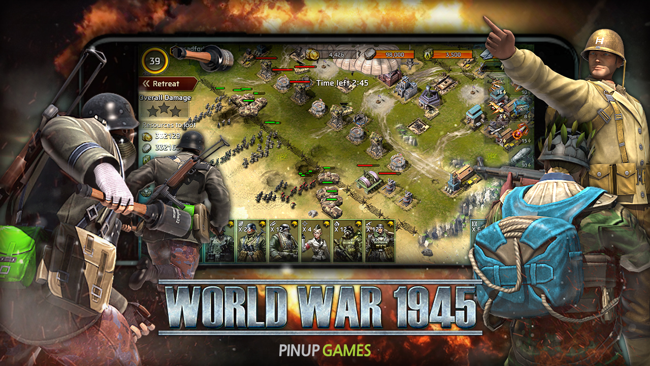 Military mobile strategy game 'WORLD WAR 1945' launches globally today