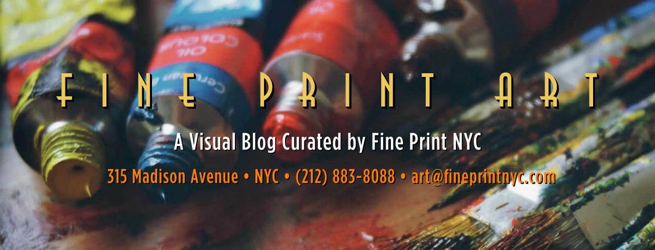 Fine Print NYC Launches New Blog Highlighting Designers and Artists