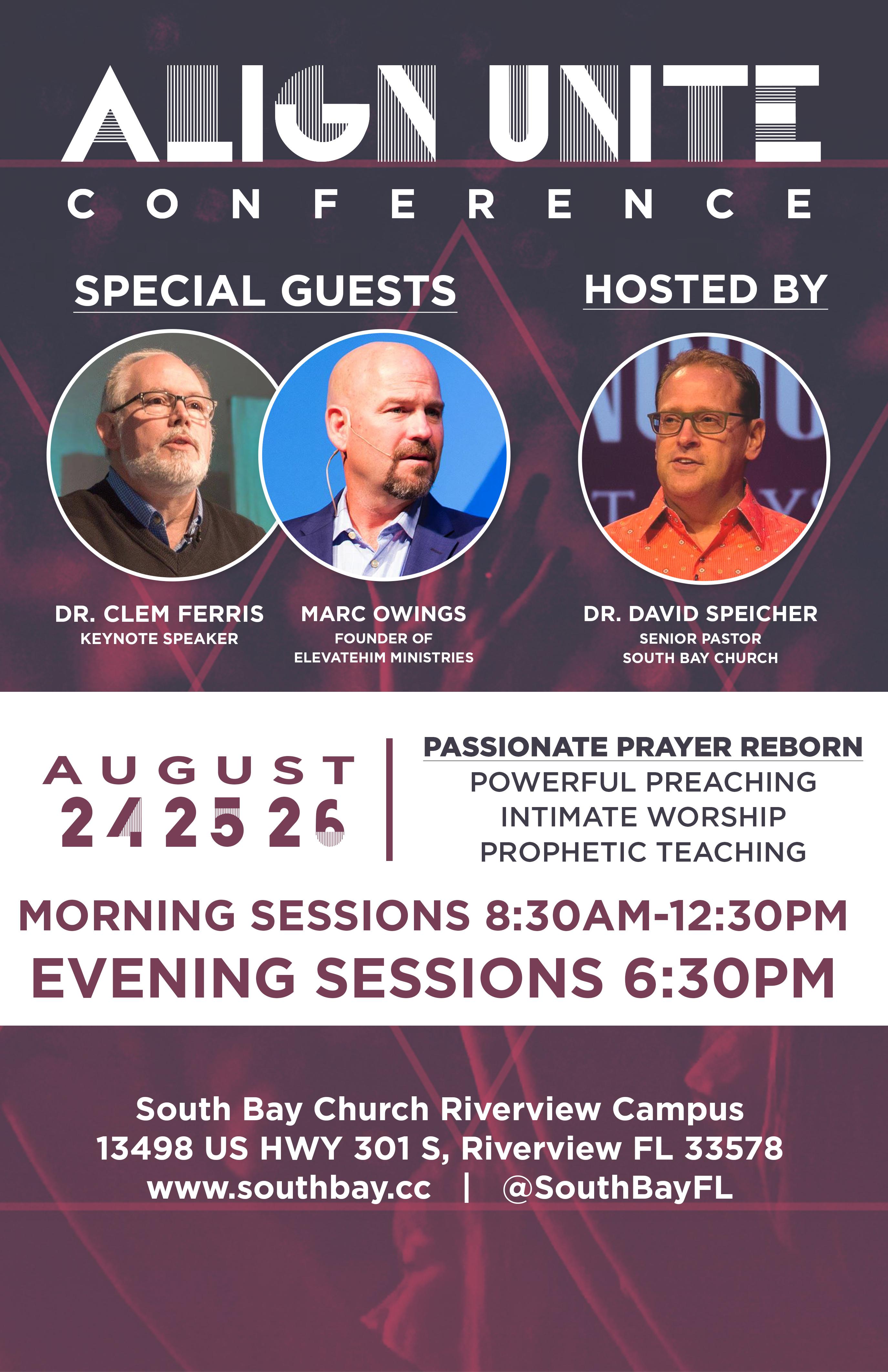 Align Unite Conference - Passion,Prayer, and Reborn