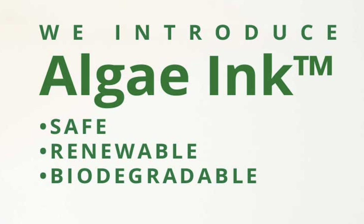 INDUSTRY LEADERS ANNOUNCE BREAKTHROUGH IN ECO-FRIENDLY INKS