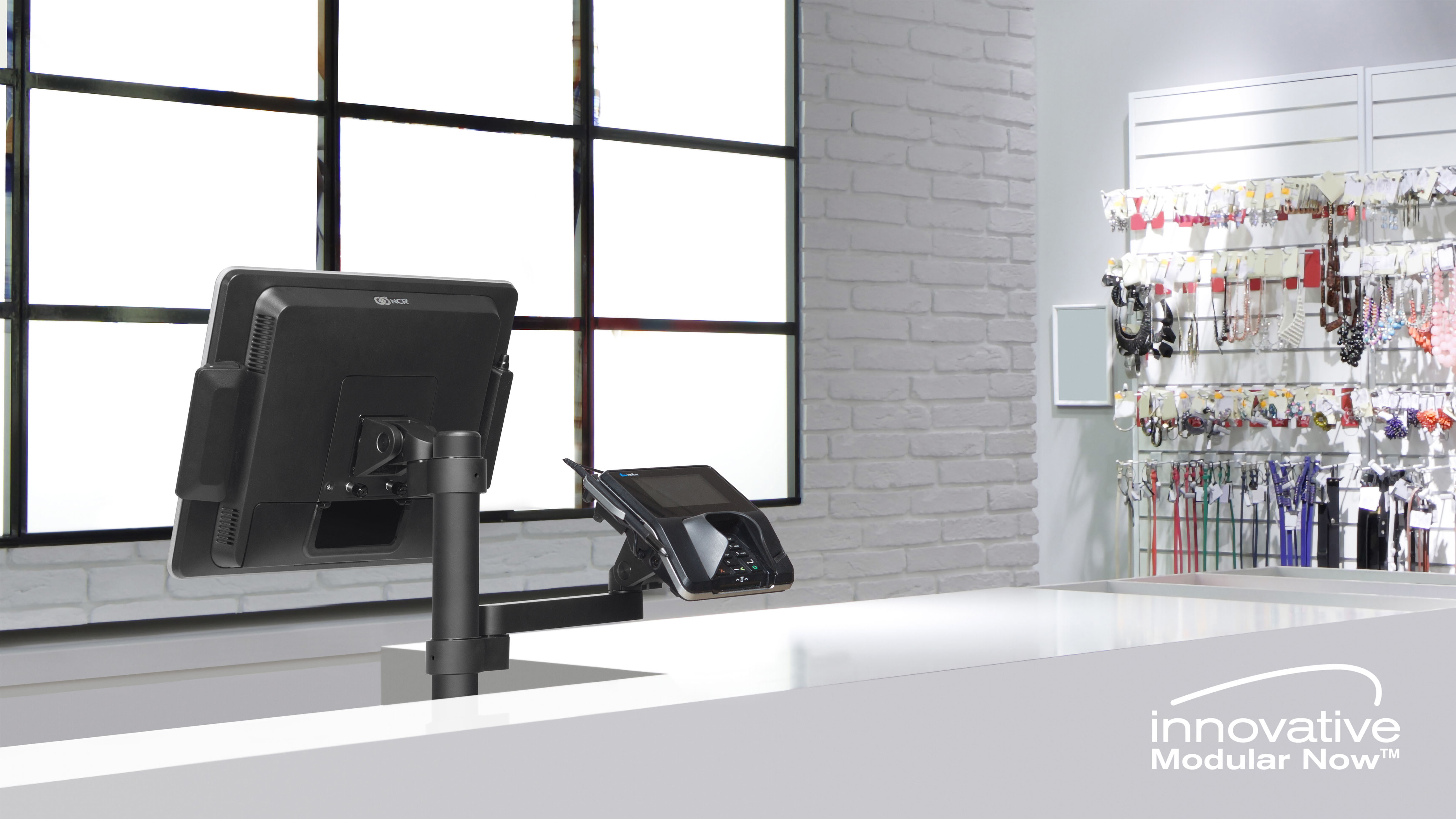 Meet Modular Now™ - a Customizable Mount Solution for Point of Sale by Innovative