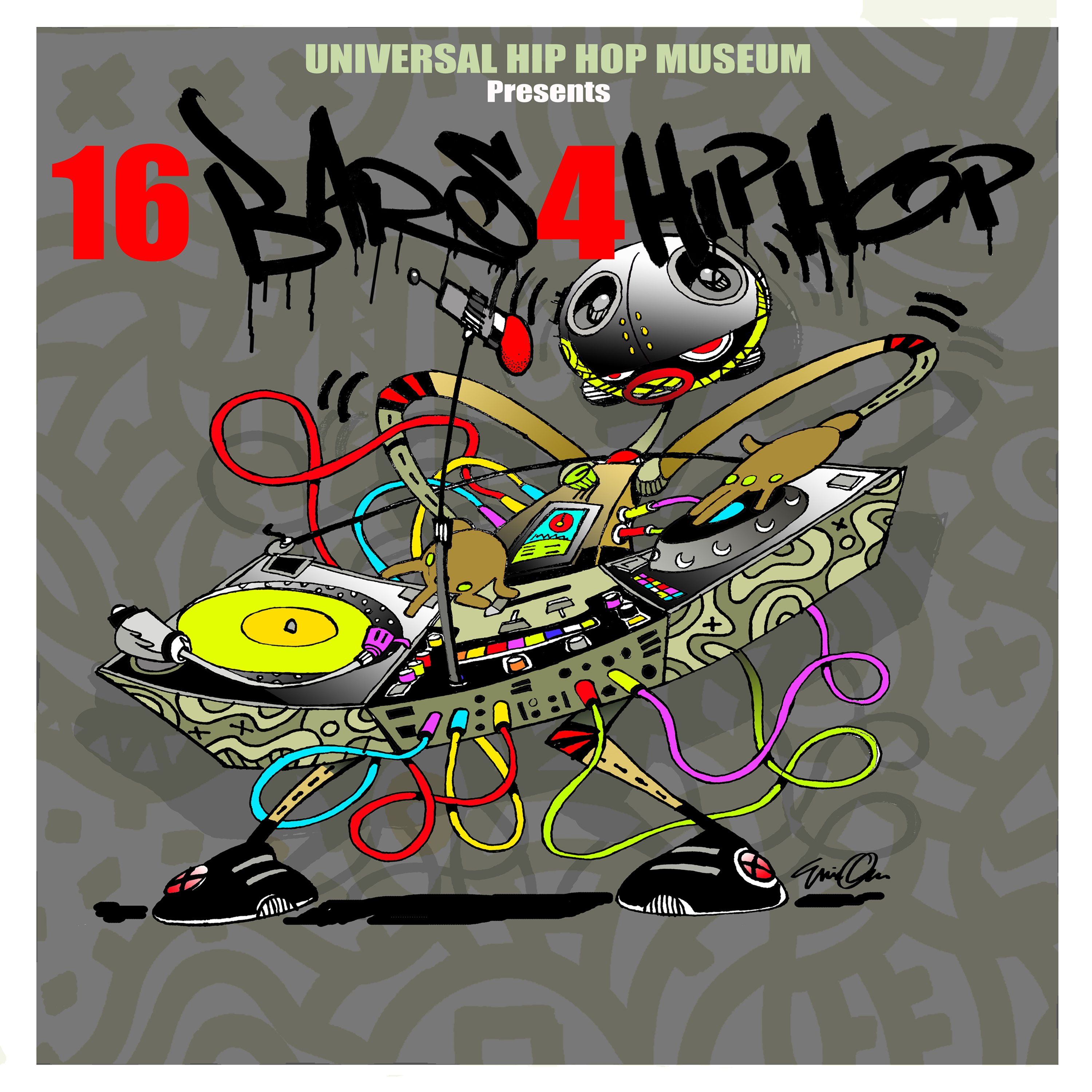 The Universal Hip Hop Museum Presents - 16 Bars 4 Hip Hop Compilation