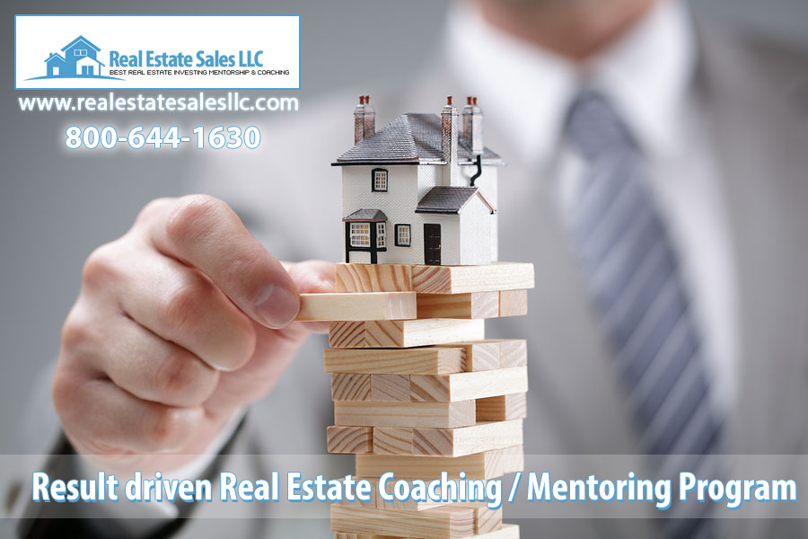 Real Estate Sales LLC Coaching / Mentoring Program Sets Itself Apart From the Rest