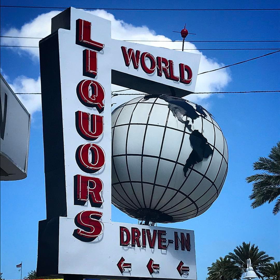 World Liquors Invites Closed Bids for Iconic Sign