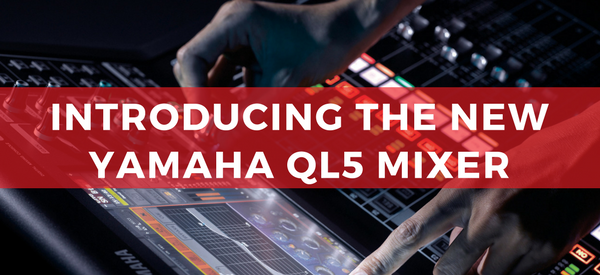 Rentex Adds the Yamaha QL5 Digital Mixer, Rio3224-D and Rio1608-D Stage Boxes to its Nationwide Inventory