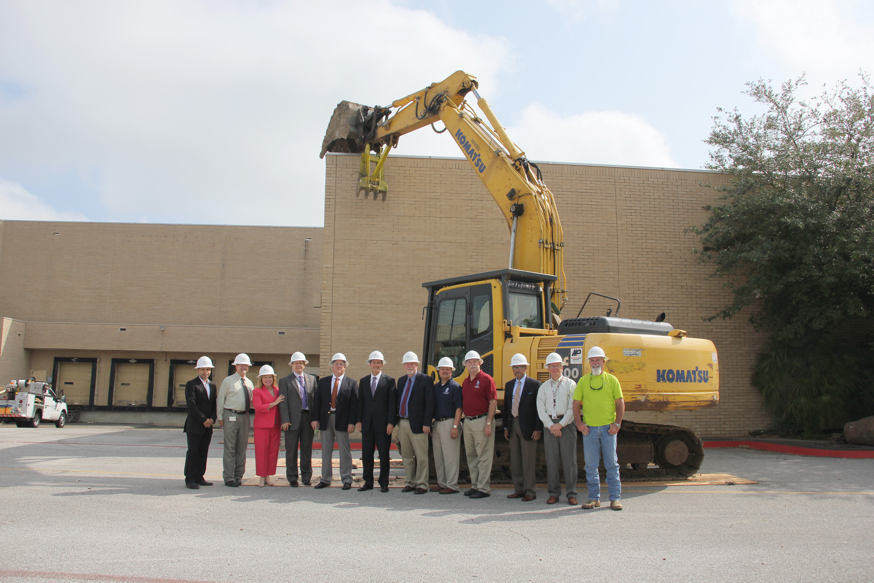 Demolition Kick-Off Launched Redevelopment of San Jacinto Mall in Baytown, TX
