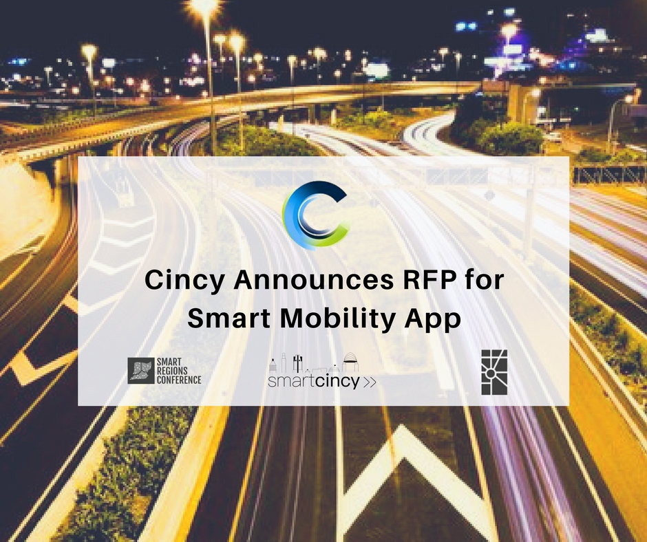 CITY ANNOUNCES RFP FOR SMART MOBILITY APP AT SMART REGIONS CONFERENCE