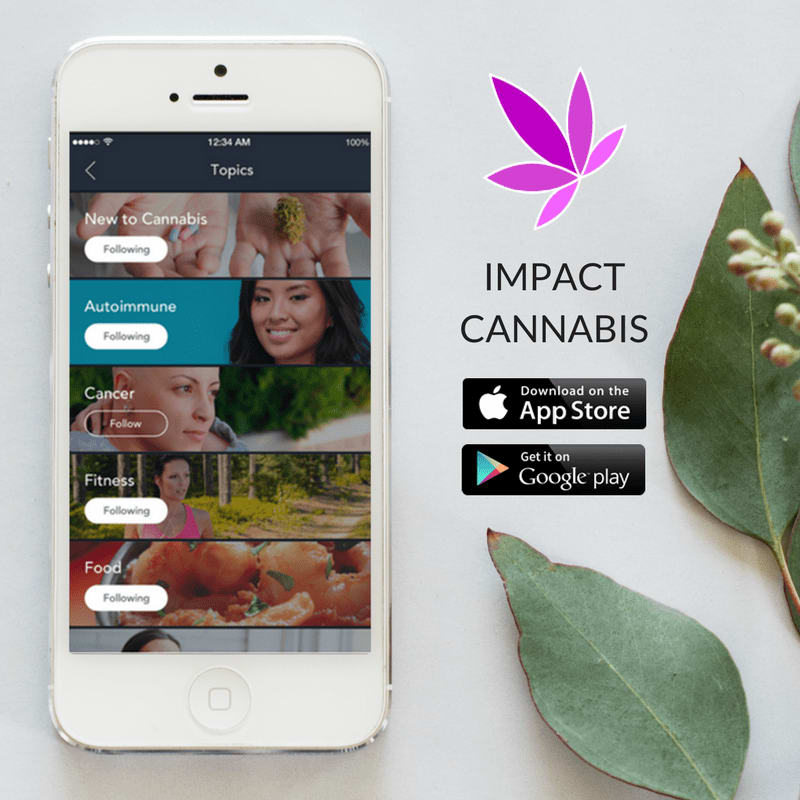 Join By January 25th For Free Lifetime Membership To IMPACT Network's App For Women Who Use Medical Cannabis