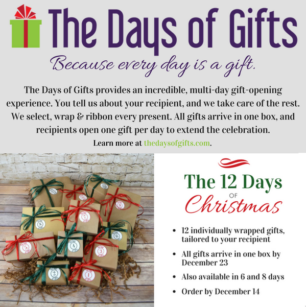 The Days of Gifts makes it possible to send The 12 Days of Christmas for less than $250