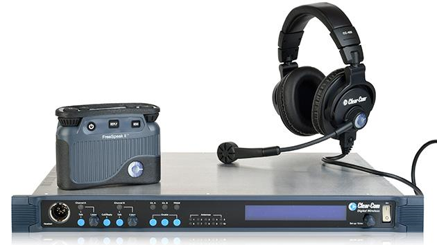 Rentex Adds Clear-Com FreeSpeak II Wireless Intercom System to its Nationwide Inventory of Audio Visual Rental Equipment