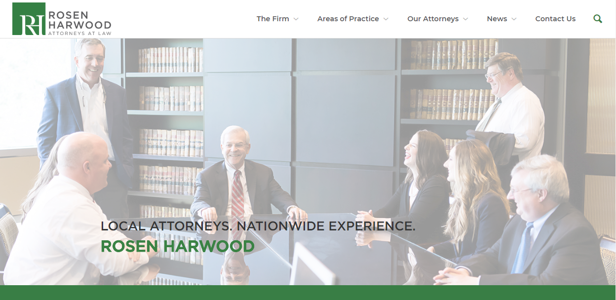 Rosen Harwood Announces New Website Launch