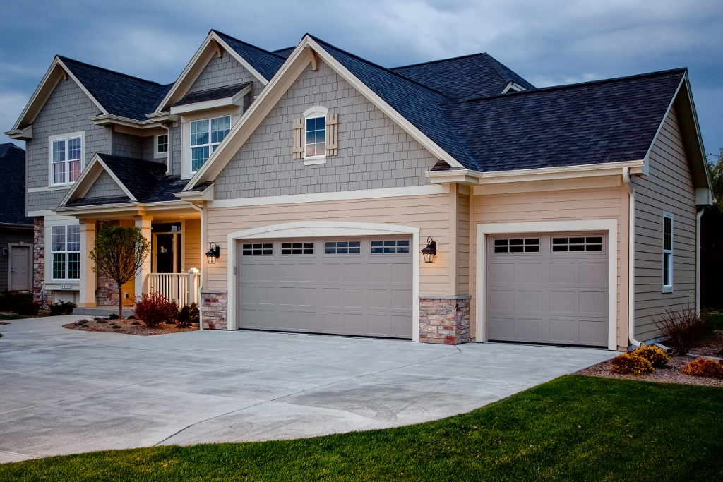 Garage Door Replacement Top ROI Project During National Curb Appeal Month