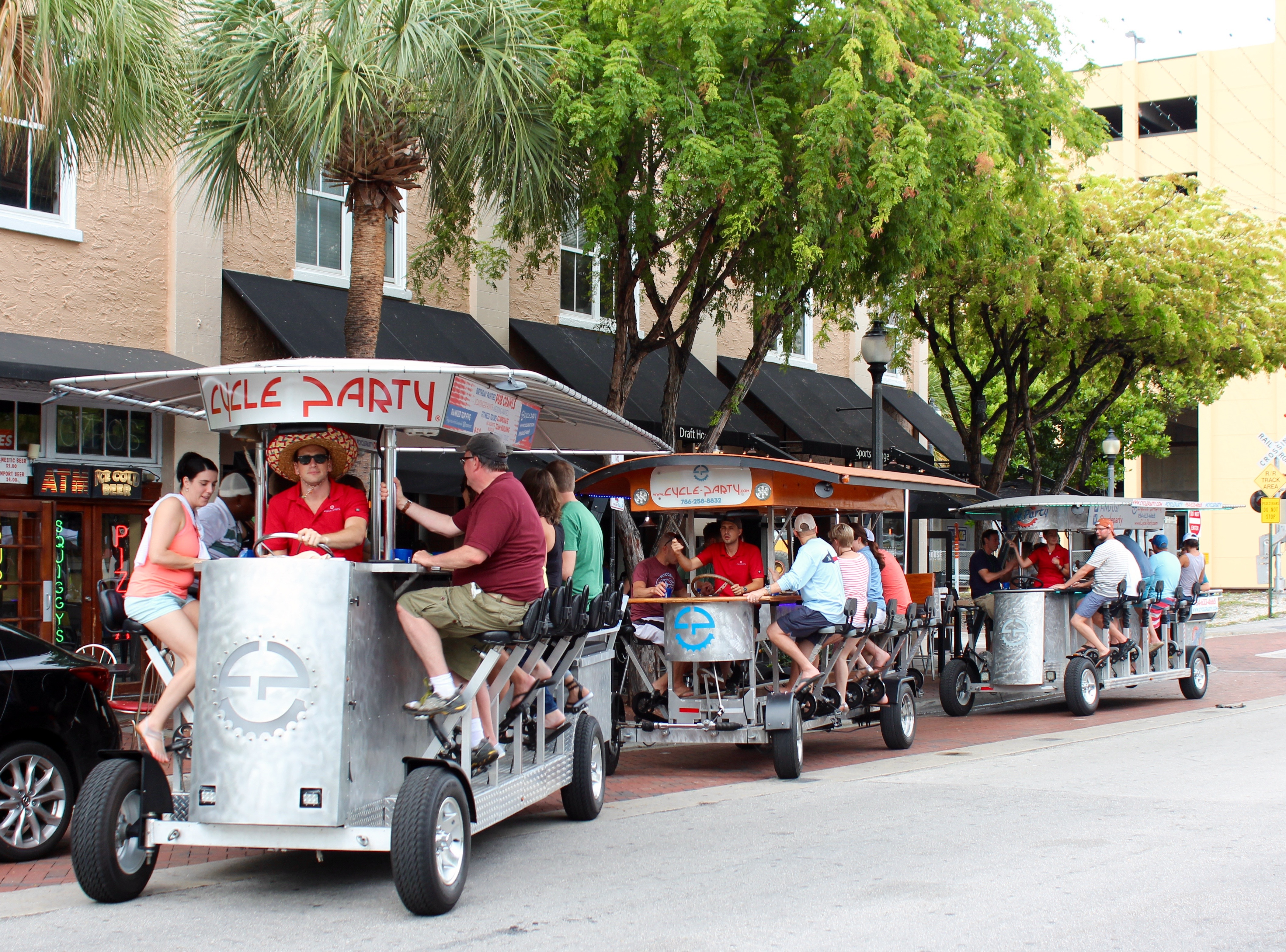 Cycle Party Launches in Miami