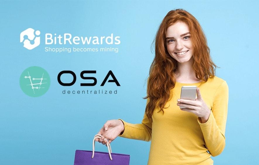 BitRewards Announces Partnership with OSA Decentralized