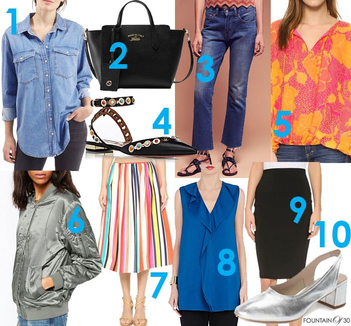 Fountain of 30 Publishes Top 10 Summer Fashion Trends for Women Over 40