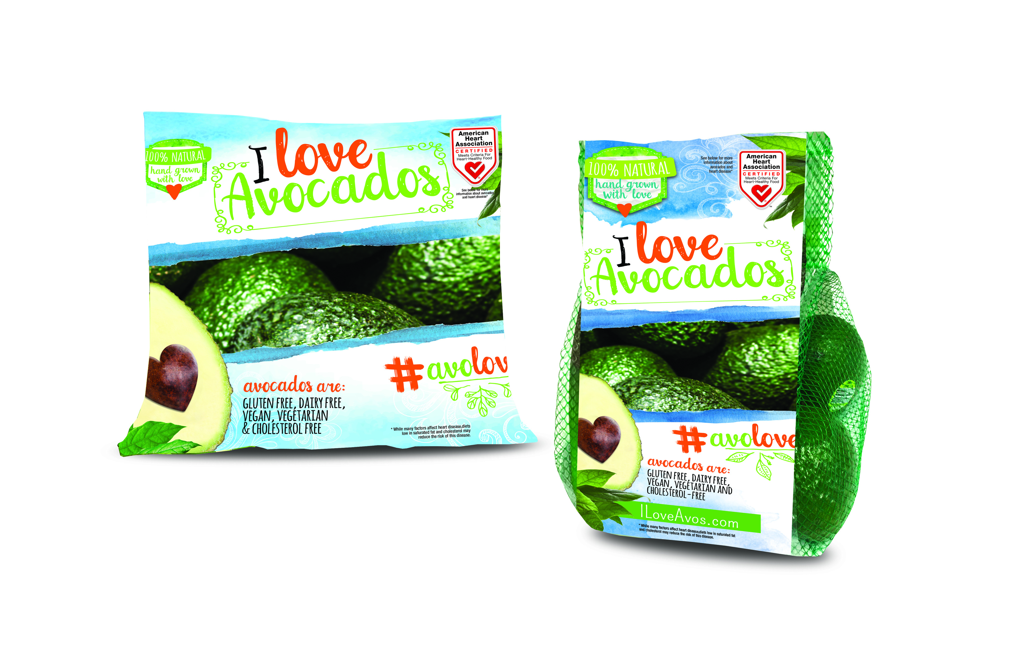 I Love Avocados Brand Earns Heart-Check Certification