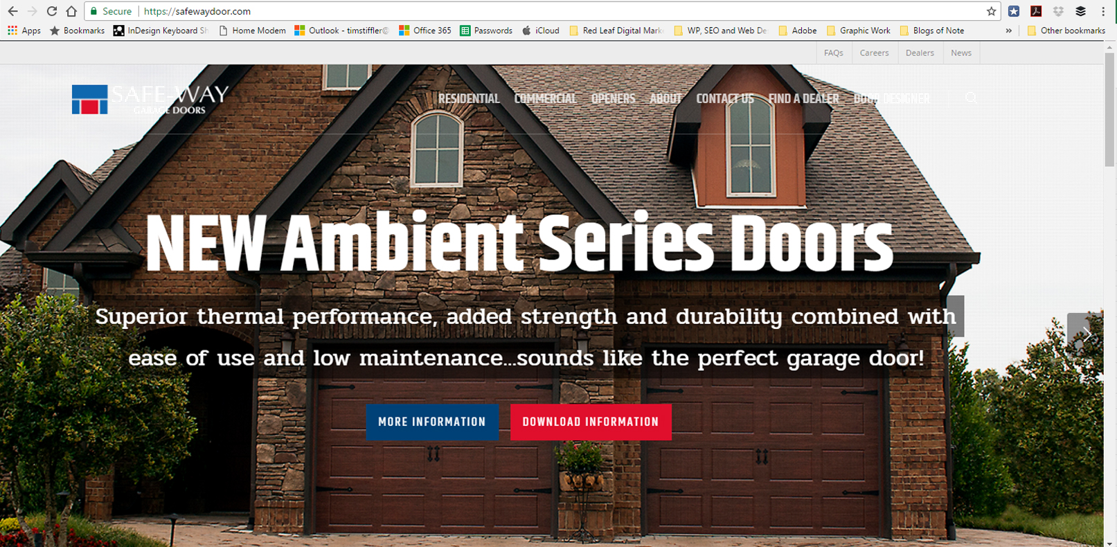 & Safe-Way Door Announces New Web Site and Two New Doors pezcame.com