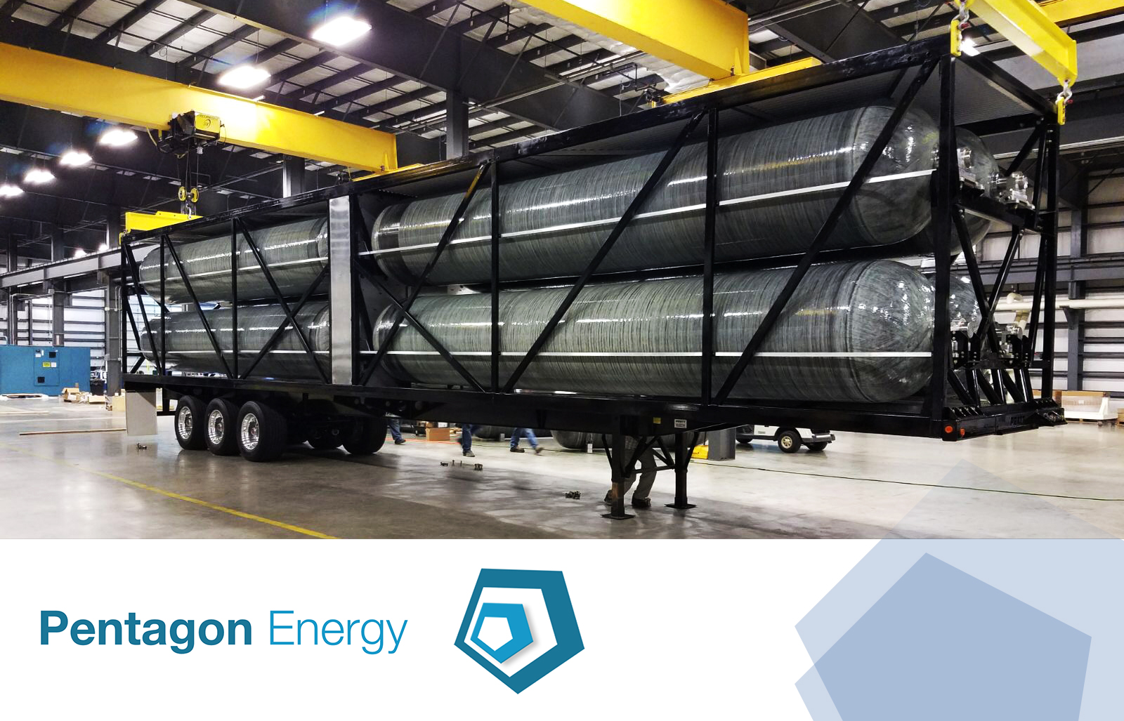 Pentagon Energy Will Deploy The Most Efficient Natural Gas Transportation System In The Market