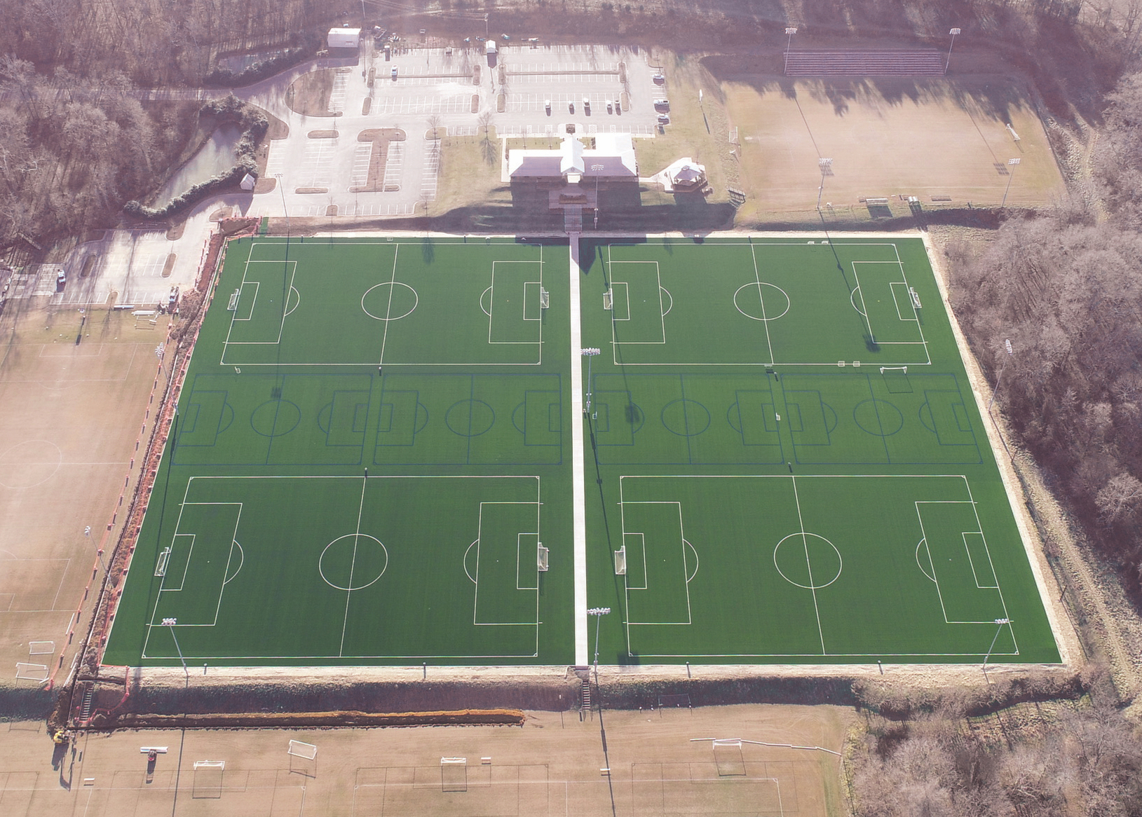 TWIN CITY YOUTH SOCCER ASSOCIATION SELECTS HELLAS MATRIX REAL M TURF FOR BB&T SPORTS PARK