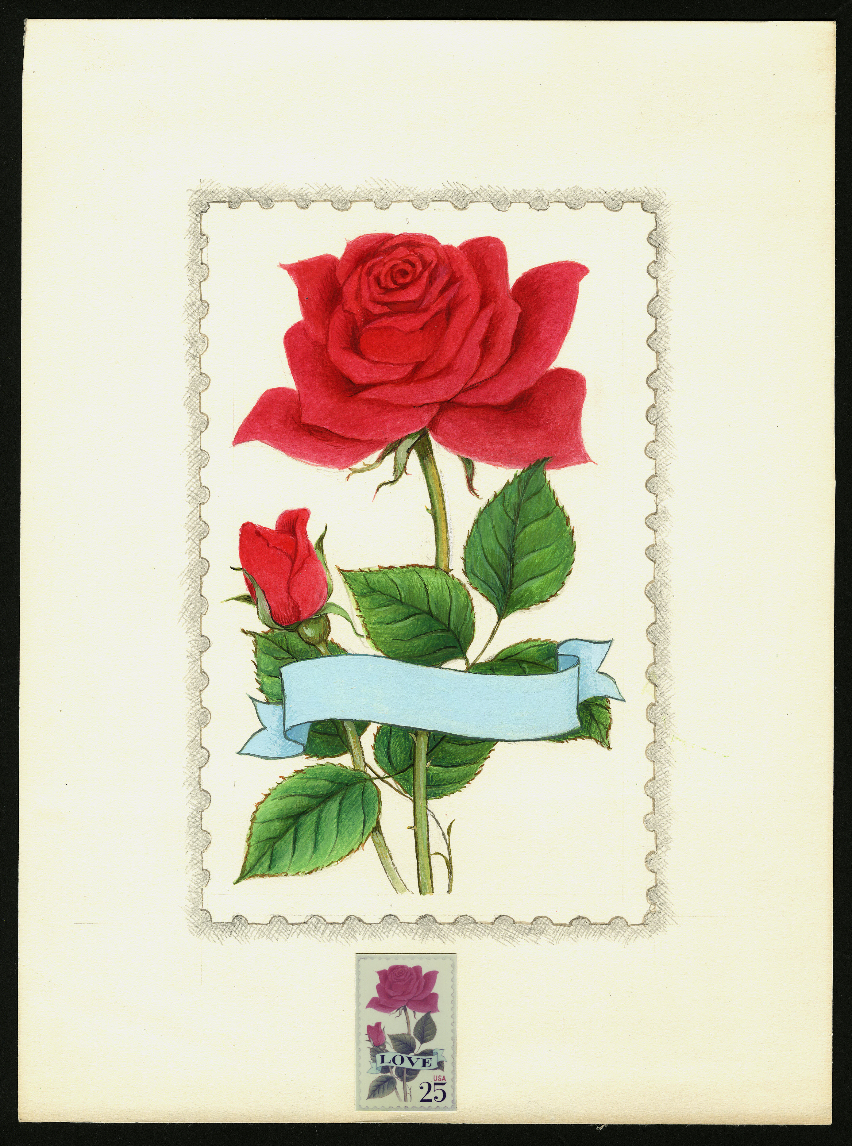 National Postal Museum to Open Art Exhibition Celebrating  Beautiful Blooms on Stamps