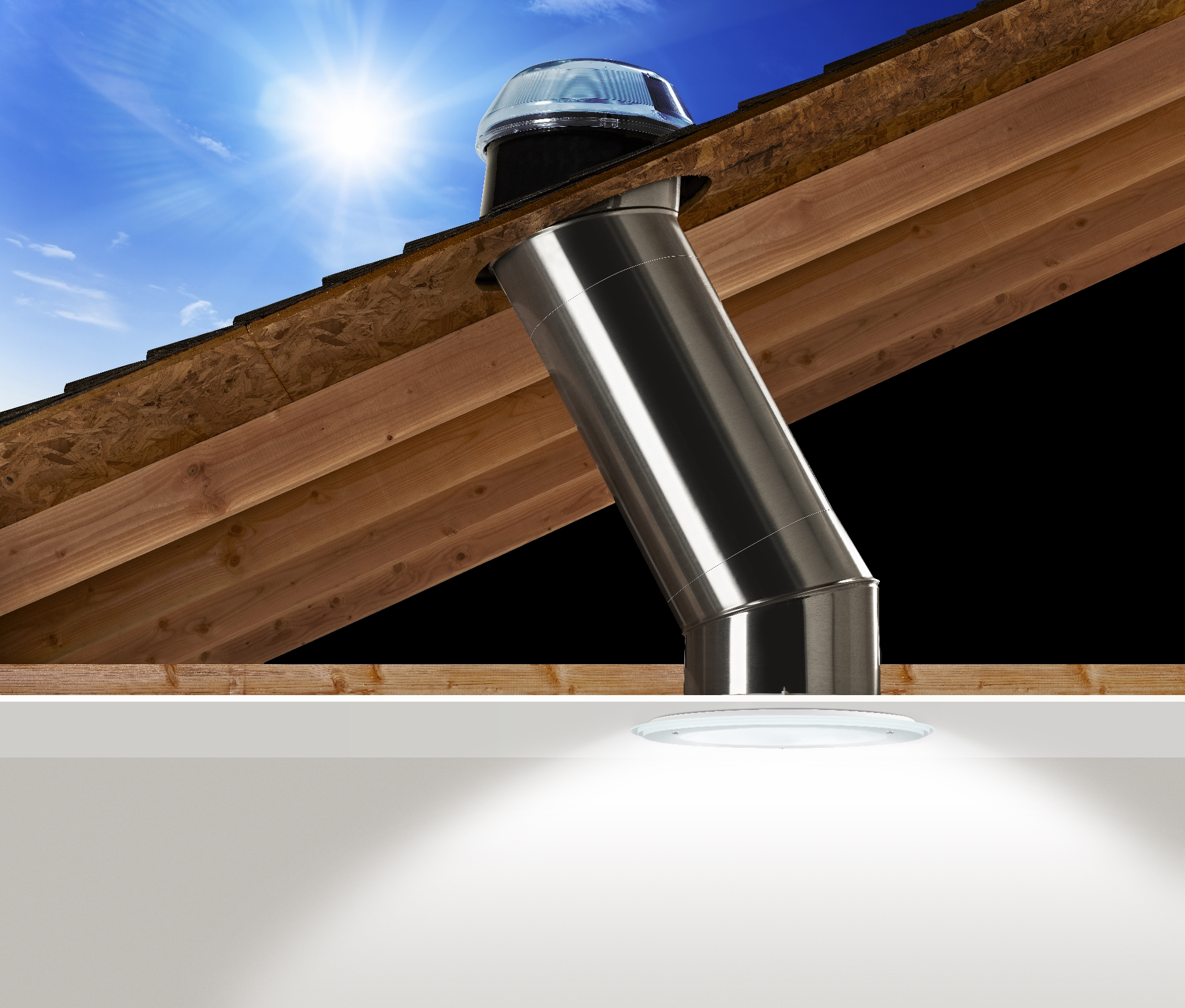 Solatube® Products Beat Traditional Skylights for Lower-Cost Daylighting