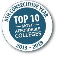 Sessions College Named Again in Top 10 for Affordability