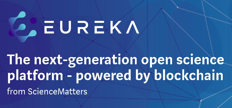 The team behind the Swiss scientific  publishing company, ScienceMatters announces EUREKA Blockchain Solutions' development of a peer to peer scientific data publishing platform powered by blockchain