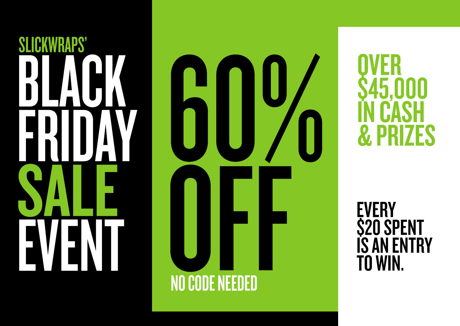 DON'T BE A TURKEY. GET YOUR BLACK FRIDAY SHOPPING STARTED THURSDAY