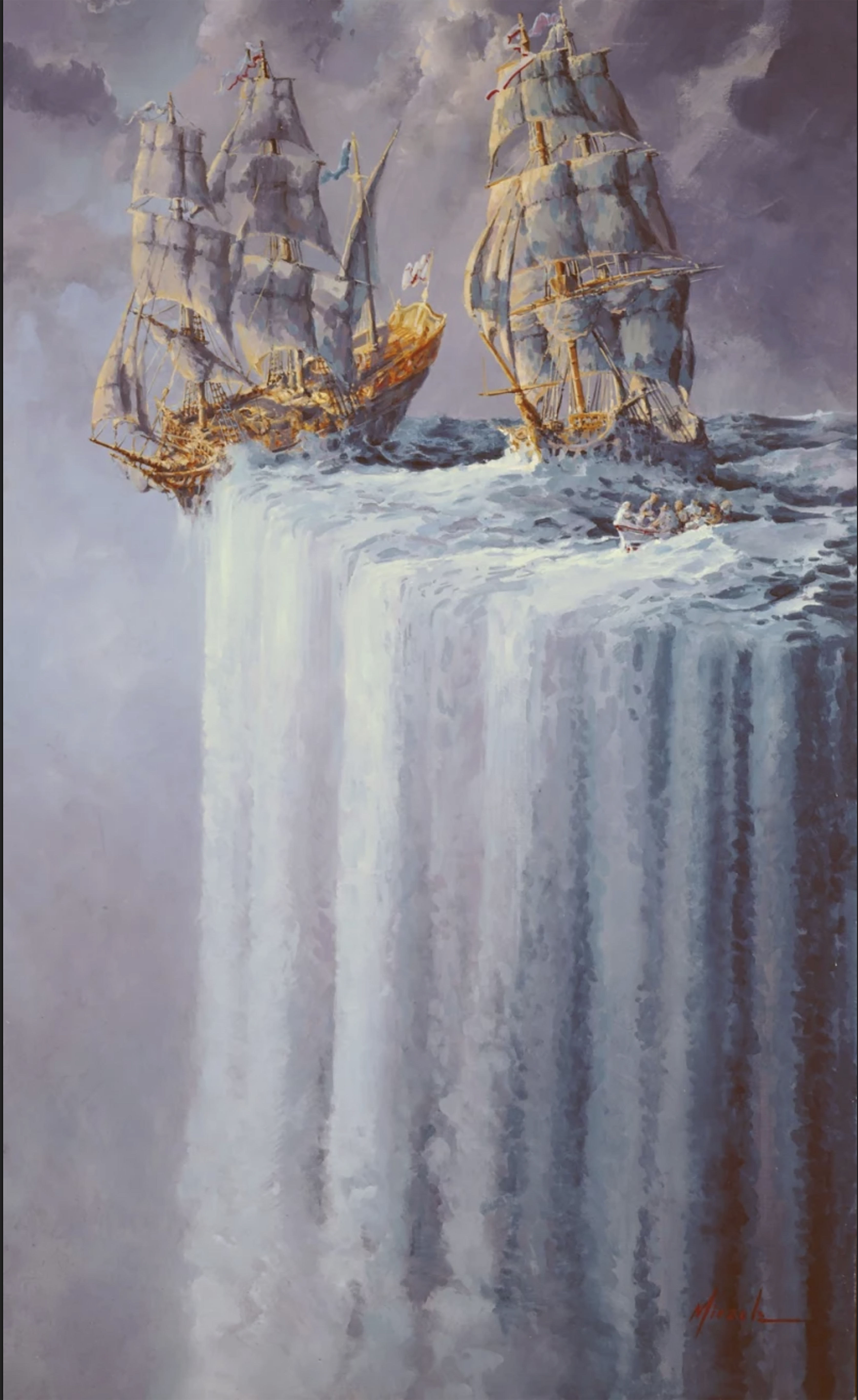 """The Original """"I Told You So"""" fine art GiClee by Ed Miracle is now on sale now at special price."""