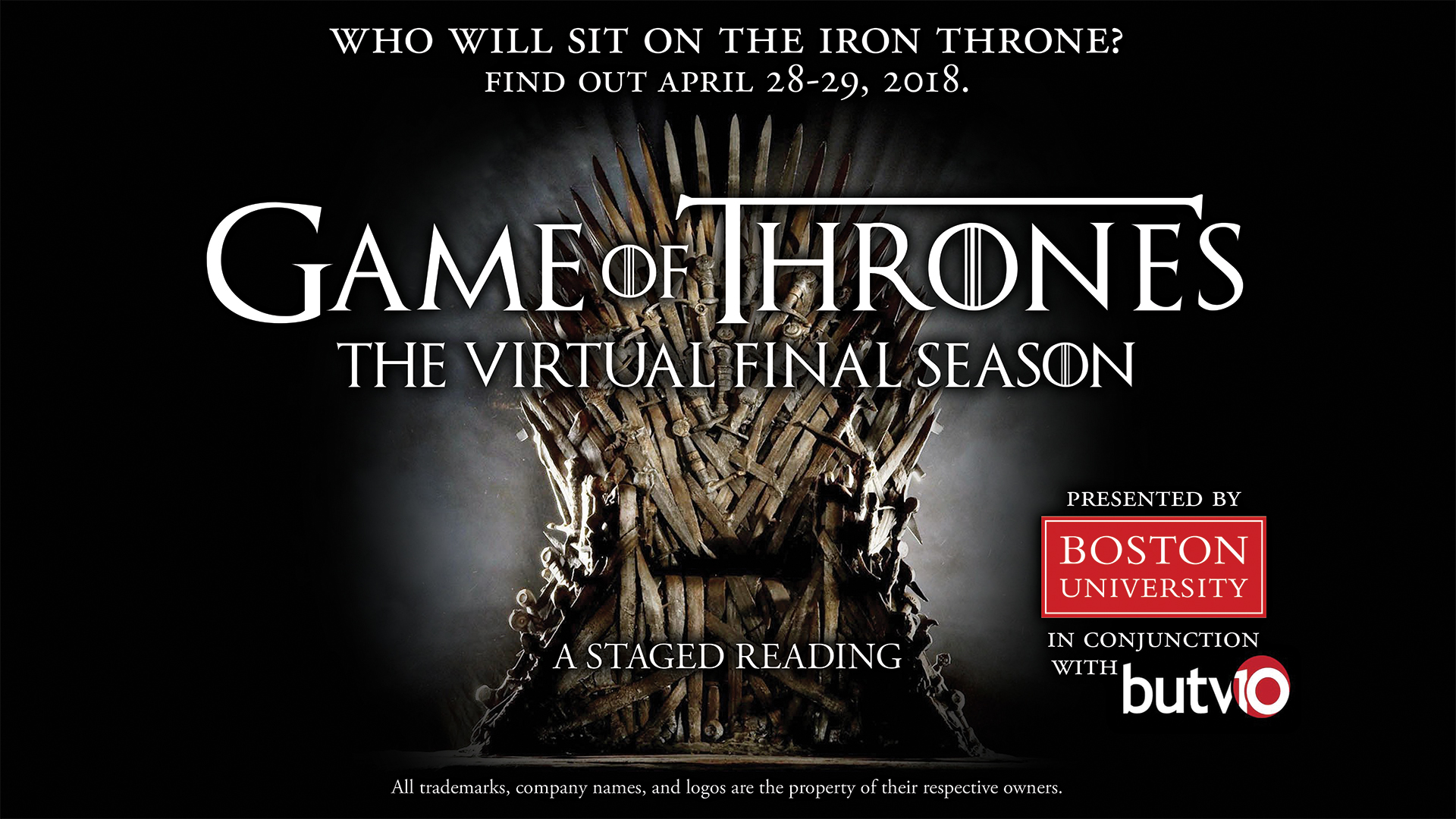 Boston University's 'Game of Thrones' staged reading reveals six new scripts