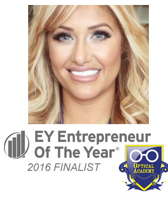 EY announces Optical Academy CEO Abby Ayoub is named an EY Entrepreneur Of The Year® 2016 finalist in New Jersey