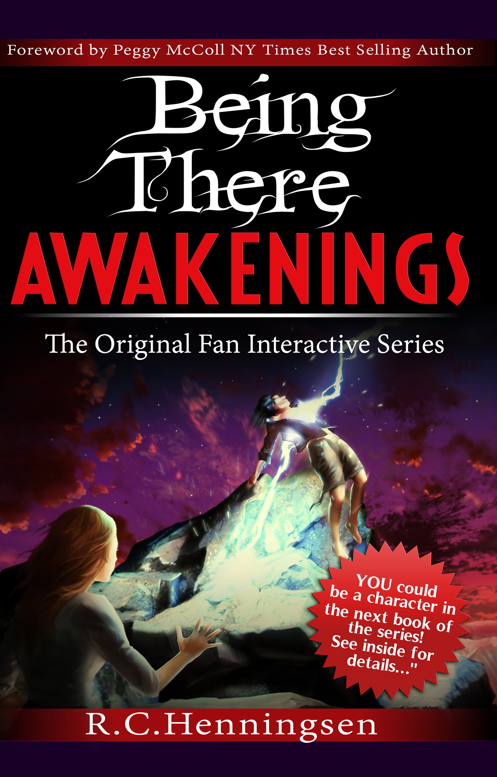L.I. Author, R.C.Henningsen's  New Age Fan Interactive Series Makes Best Seller Status in Hours