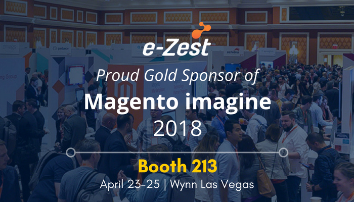 e-Zest announces Gold level sponsorship for Magento Imagine 2018