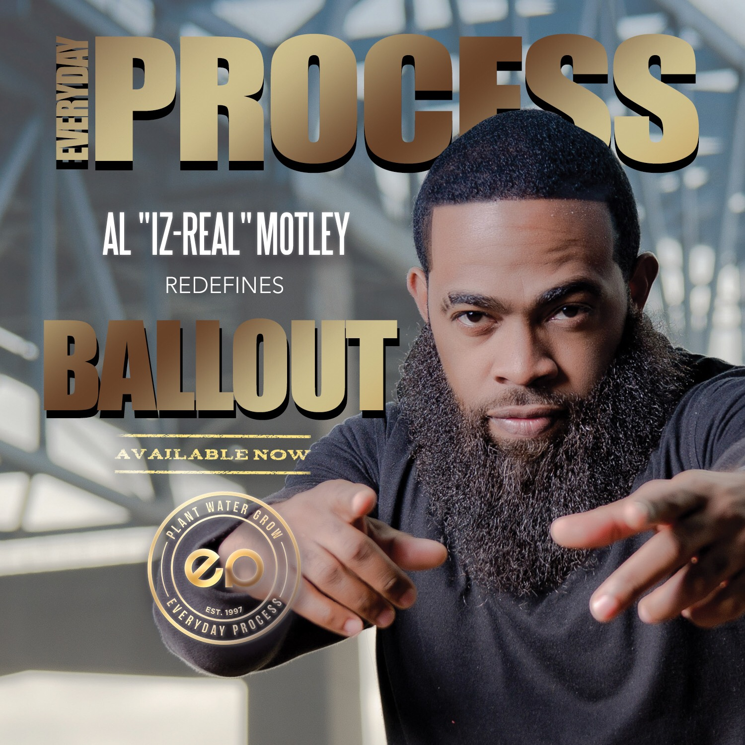 Hip Hop Grammy® and Stellar Award Nominated Recording Artist IZ-REAL of Billboard Chart-Topping Duo Everyday Process Goes Solo; Redefines Balling Out With First National Single Ball Out