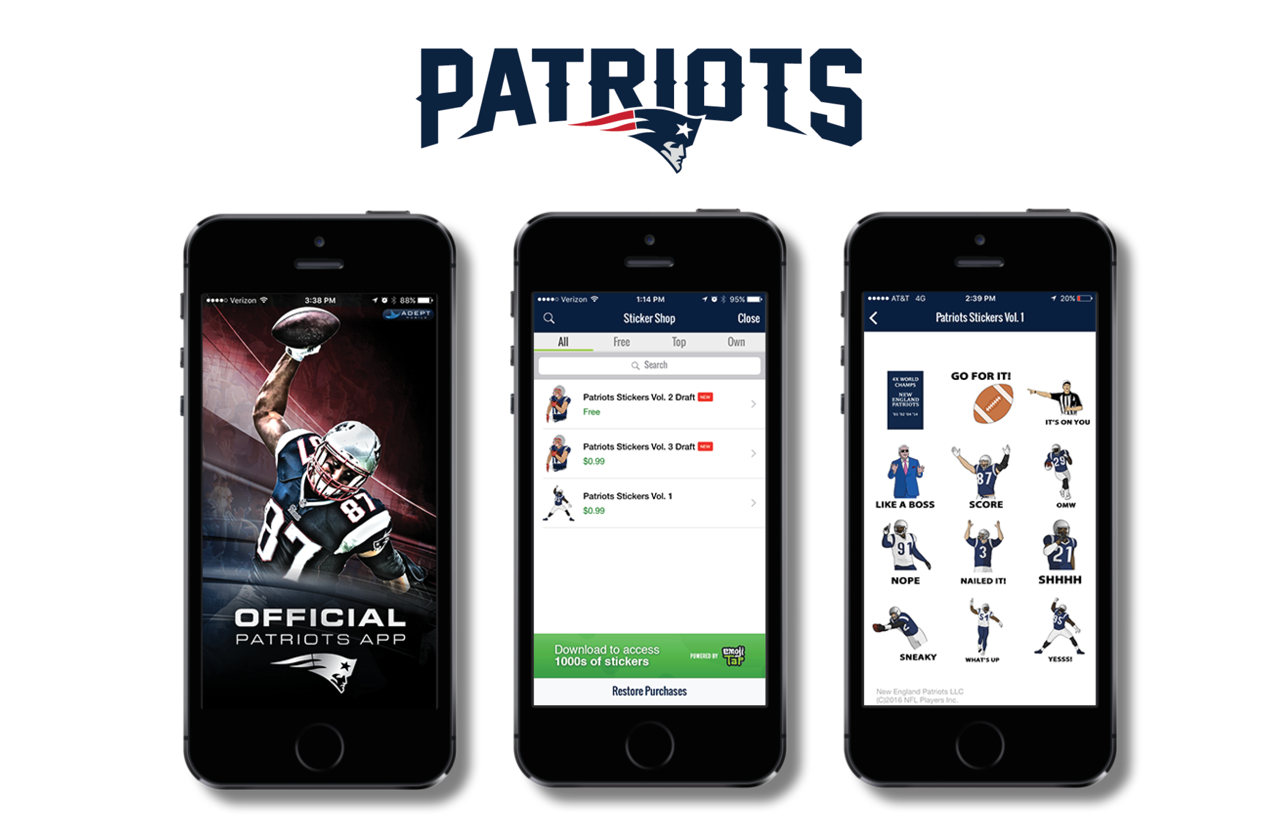BARE TREE MEDIA TACKLES EMOJIS WITH NEW ENGLAND PATRIOTS
